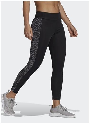adidas adidas GL4046 W LEO 78 TIG Kadın Tayt Siyah